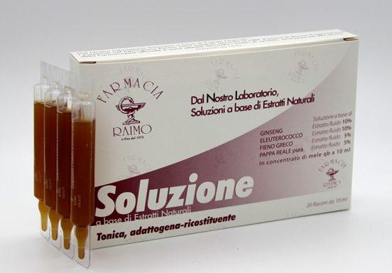 Ginseng composto Fialoidi Ricostituente