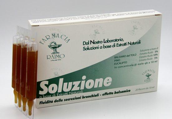 Balsamo del Tolù Fialoidi Tosse Grassa